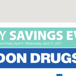 Healthy Savings Event