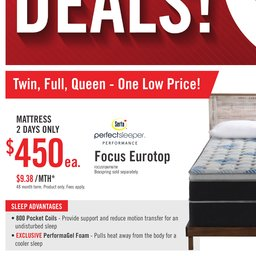 The Big Mattress Sale