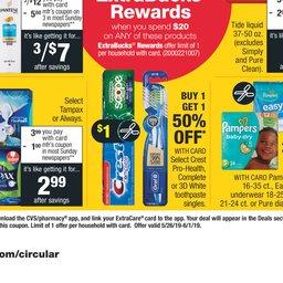 CVS Pharmacy Weekly Ad - May 26 to Jun 01