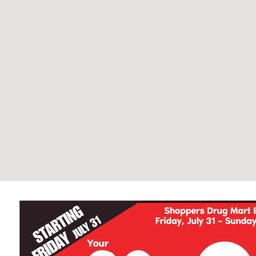 Flyer Shoppers Drug Mart