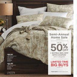 Semi-Annual Home Sale