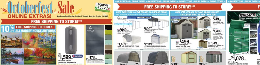 Menards Kitchen Bath Sale Oct 03 To Oct 13