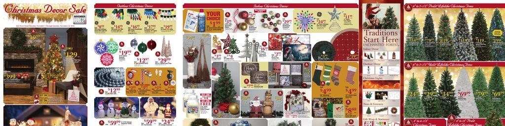 featured circular thumbnail christmas decor sale