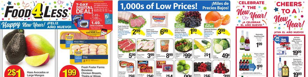 food 4 less weekly ad dec 26 to jan 01