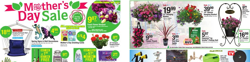 Menards Mother S Day Sale May 05 To May 11