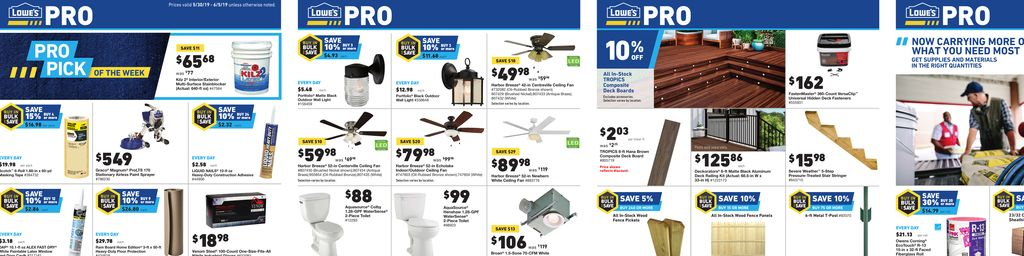 Lowe s Weekly Ad May 30 to Jun 05