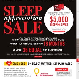 Sleep Appreciation Sale