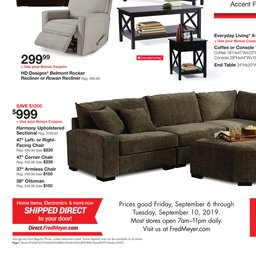 Fred Meyer 5-Day Sale - Sep 06 to Sep 10