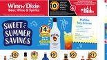 Alcohol Flyer