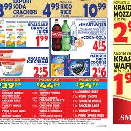 Bravo Supermarket Weekly Ad - Aug 02 to Aug 08