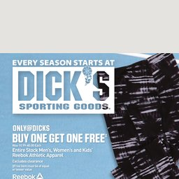 DICK'S Sporting Goods® Week Ad & Weekly Deals