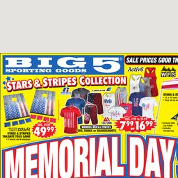 Weekly Ad And Save At 5 Sporting Goods