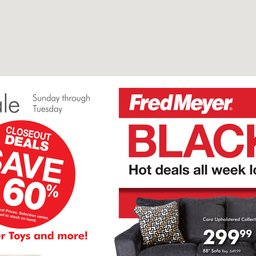 Fred Meyer 3-Day Sale - Jul 21 to Jul 23