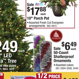 menards christmas catalog nov 18 to dec 01