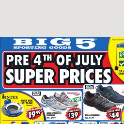Weekly Ad Shop And Save At Big 5 Sporting Goods Big 5 Sporting