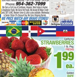 Bravo Supermarket Bravo Florida Weekly - Jun 20 to Jun 26