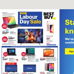 Best Buy Weekly Flyer - Sep 06 to Sep 12