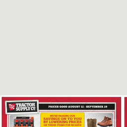 picture regarding Tractor Supply Coupon Printable identified as Latest Advertisement