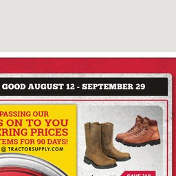 image regarding Red Wing Boots Coupon Printable titled Present Advertisement