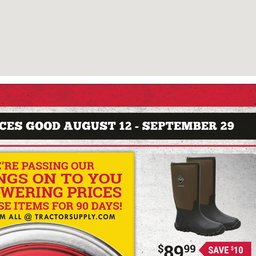 image relating to Tractor Supply Coupon Printable named Latest Advertisement
