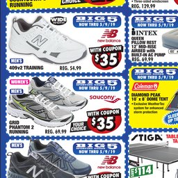 36b4e38ff10 Big 5 Sporting Goods Coupon Ad - May 05 to May 09