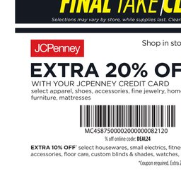 JCPenney Weekly Ad, JCPenney Store Ad