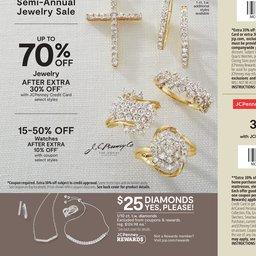 JC Penney Semi-Annual Jewelry Sale