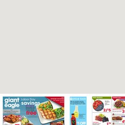 Giant Eagle Weekly Specials Sep 03 To Sep 09