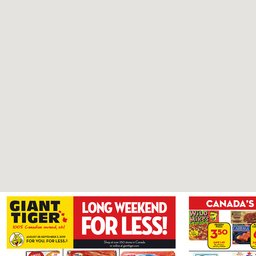 Weekly Flyer - Flyers and Deals | Giant Tiger