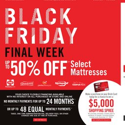 Black Friday Final Week