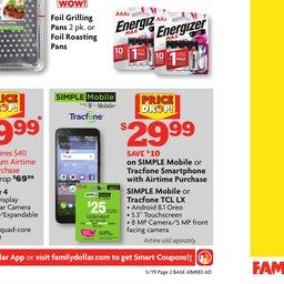 Family Dollar Weekly Ad - May 19 to May 25