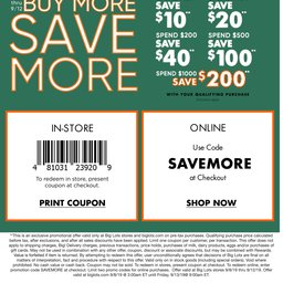 photograph relating to Tuesday Morning Printable Coupon named Significant Plenty: Weekly Advertisement
