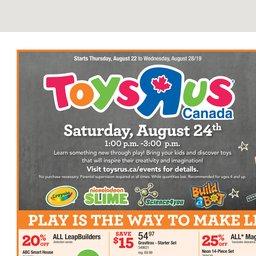 Toys R Us Flyer Ontario |
