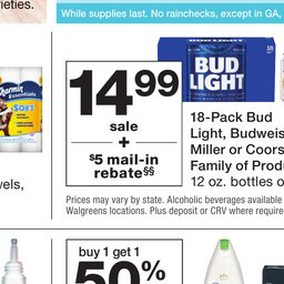 Walgreens Weekly Ad - Jun 30 to Jul 06
