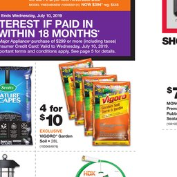 Home Depot Weekly Flyer - Jul 04 to Jul 10