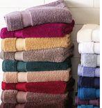 "Liz Claiborne 30x58"" Luxury Egyptian Cotton Loops Solid Bath Towel"