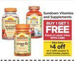 Sundown Vitamins and Supplements