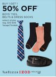 Boys' Ties, Belts & Dress Socks