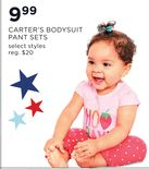 Carter's Bodysuit Pant Sets