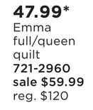 Emma Full/Queen Quilt