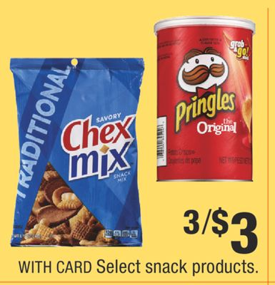 Select snack products