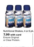 Nutritional Shakes