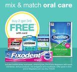 mix & match oral care