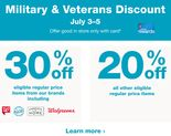 Military & Veterans Discount July 3-5. Learn more.