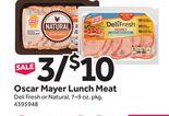 Oscar Mayer Lunch Meat