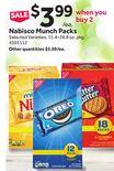 Nabisco Munch Packs
