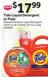 Tide Liquid Detergent or Pods