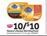 Nature's Recipe Wet Dog Food
