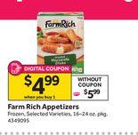 Farm Rich Appetizers