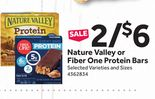 Nature Valley or Fiber One Protein Bars